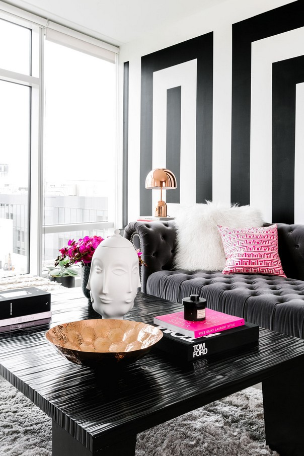 how to decorate your home interior with black white interior