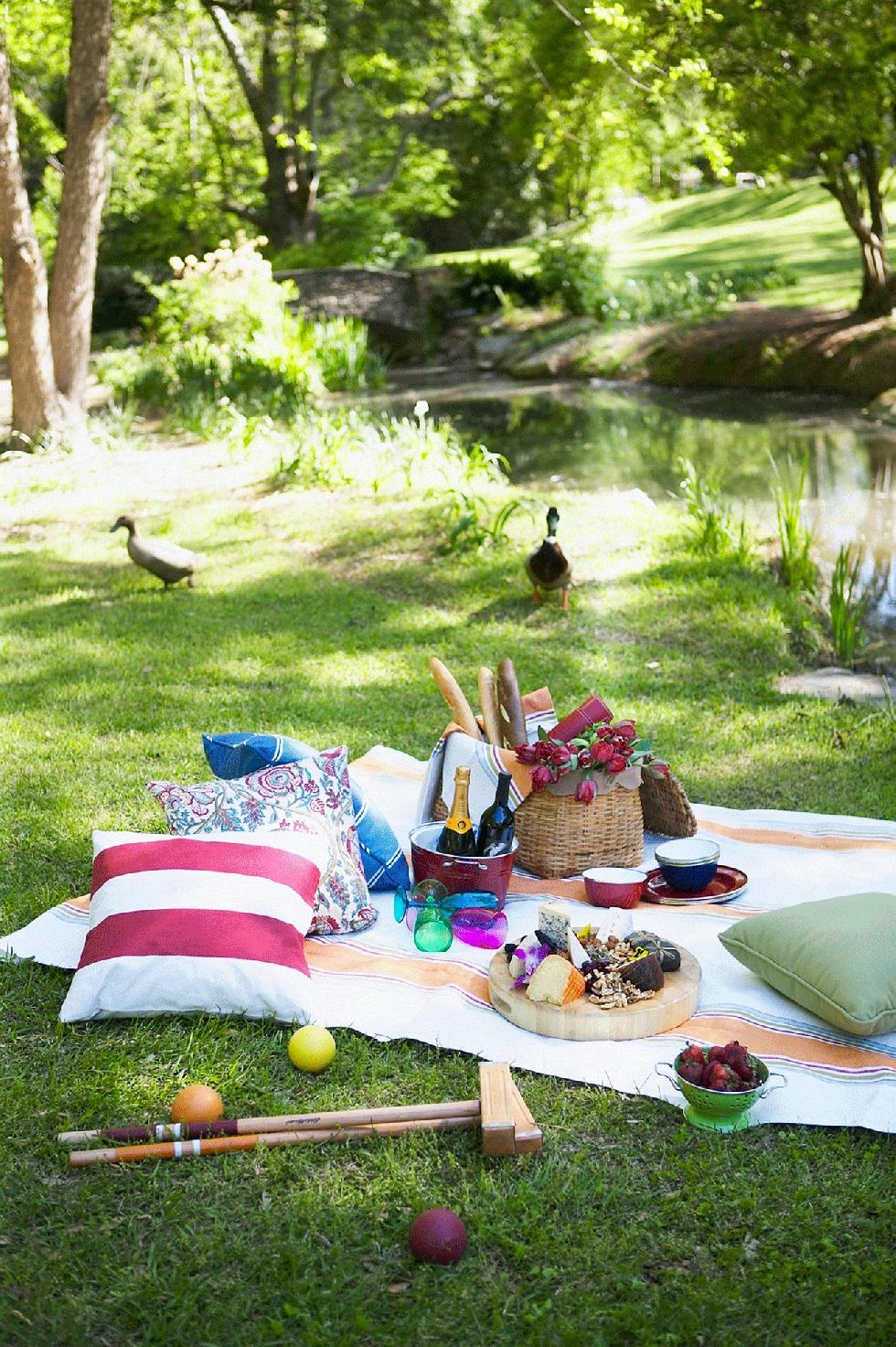 天气好个晴 一起野餐可好?