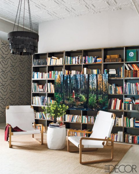 家居 设计 书房 图书馆 装修 480_600 竖版 竖屏