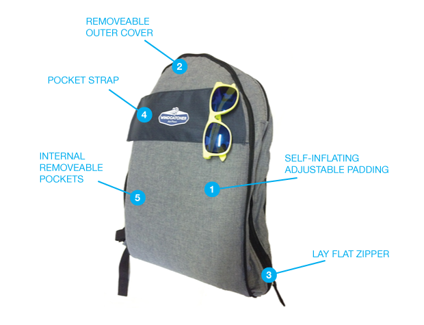 """Air Pakk """"嗜睡者""""的专用包"""