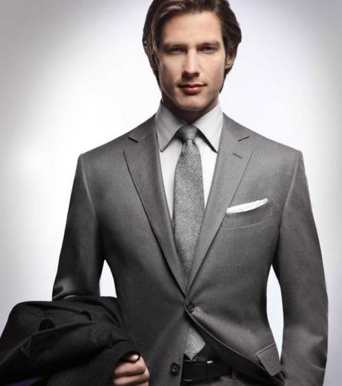 衬衫领带搭配日记之上班族装束