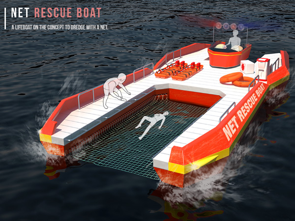 Net Rescue Boat 海上急救艇