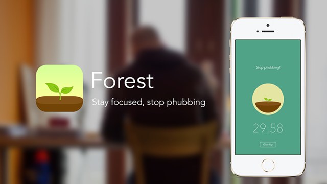 "App推荐:Forest - 小清新治愈""低头族"""