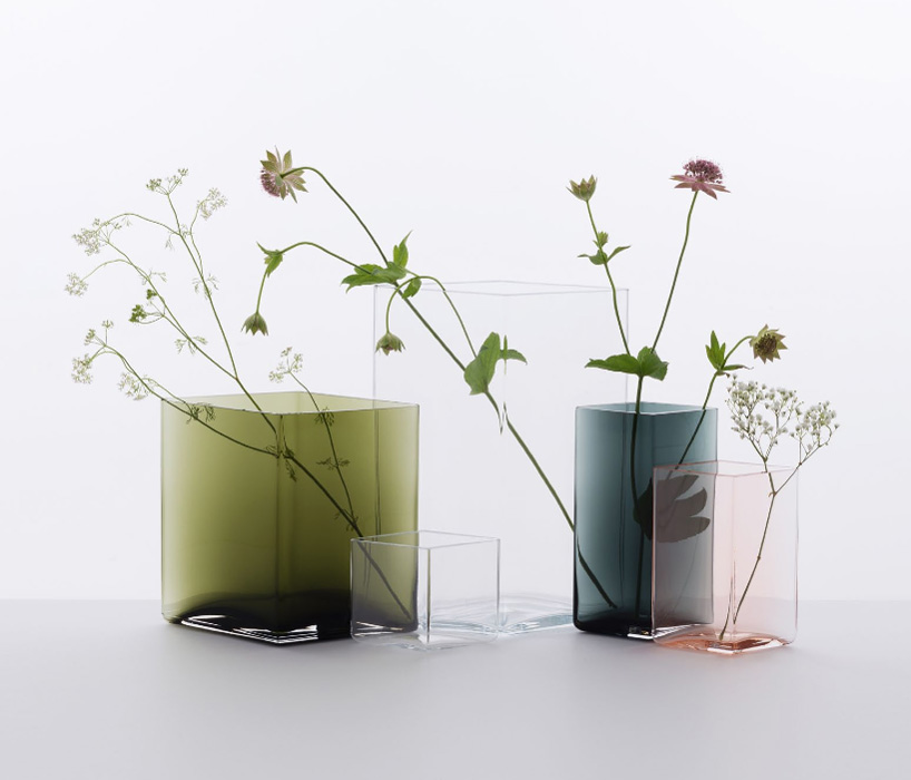 ruutu花瓶:捕捉光线与收集颜色