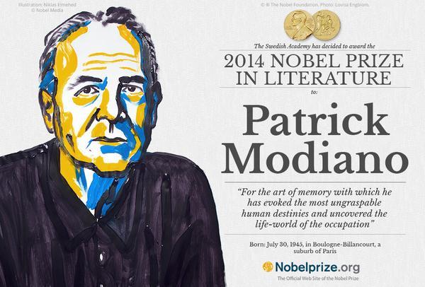 2014年诺贝尔文学奖得奖者揭晓:法国作家帕特里克·莫迪亚诺