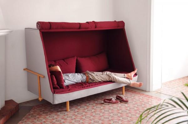 可躺可坐的私人安乐窝  Orwell by Goula Figuera