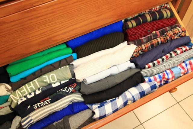 型男穿搭第一步 极简衣柜收纳法