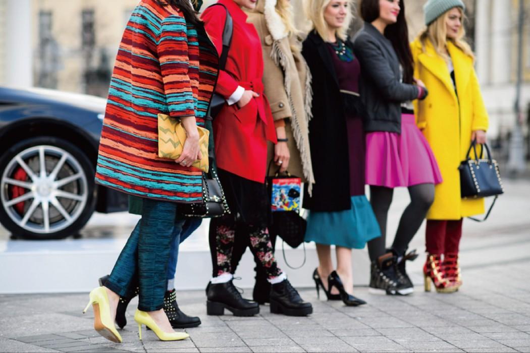 雪国的时尚魅力:俄罗斯街拍特辑