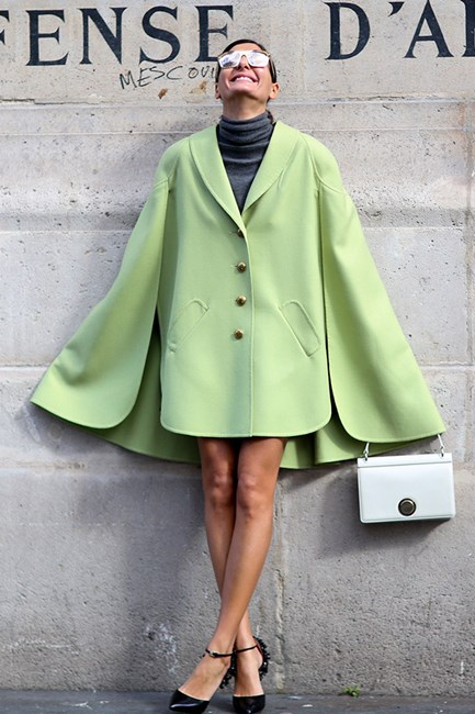 暖冬时尚:高领毛衣轻松搭