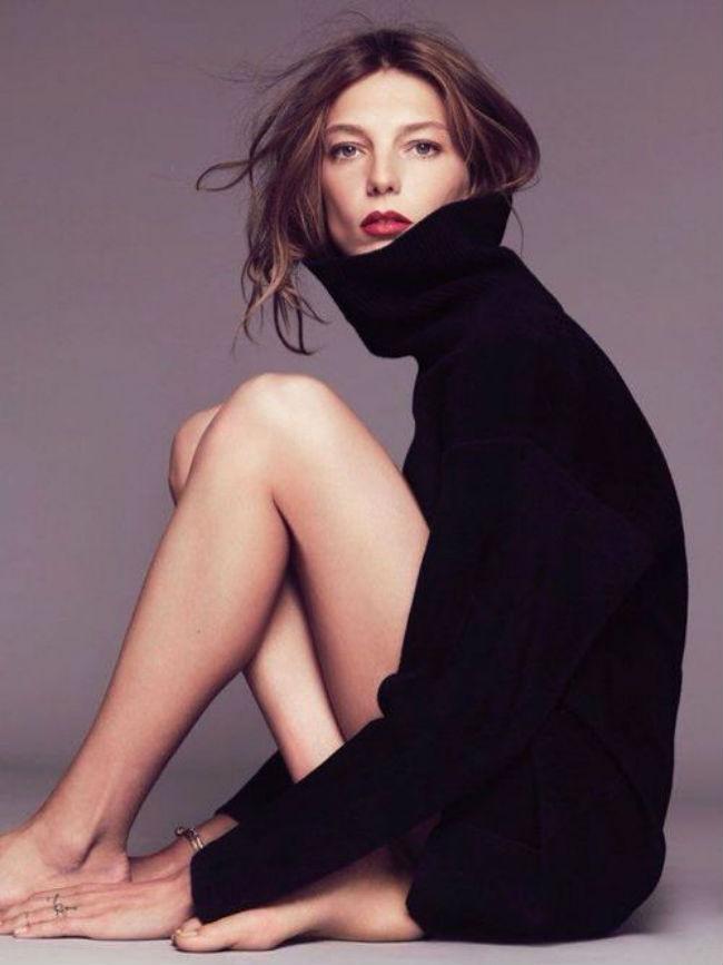 这个冬天 你不能缺少一件高领毛衣