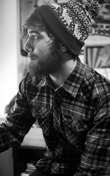 毛帽的有型戴法