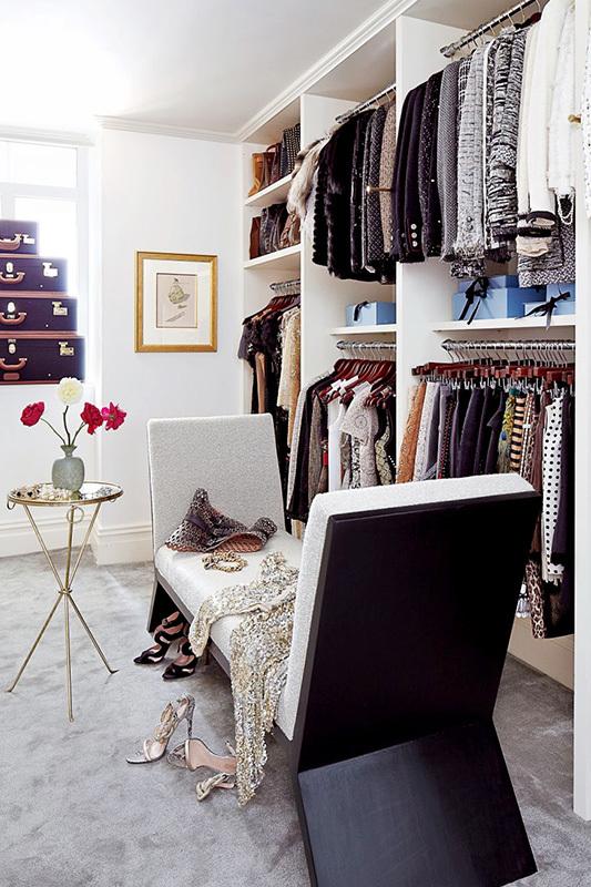 你是否也梦幻拥有一个时尚衣橱间?