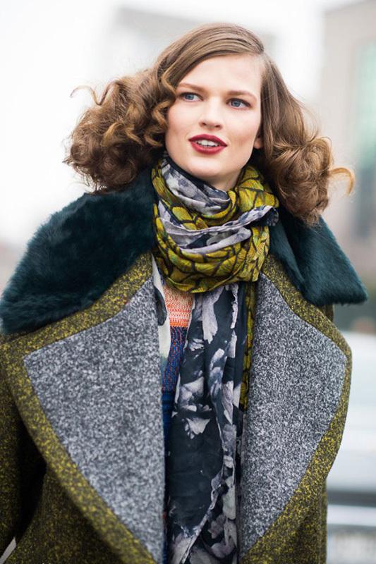 宝贝说 | 冬季最保暖 配上围巾型格出街