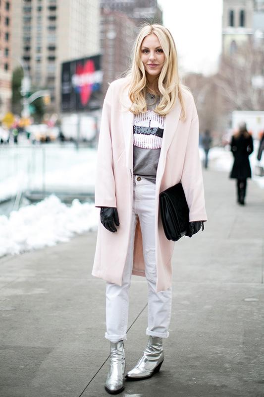 宝贝说 | 粉色大衣如何穿出欧美范儿