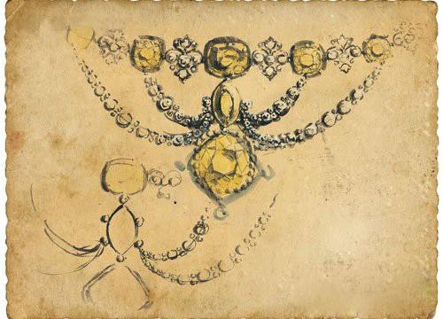 宝贝物语 | 最美珍藏 宝石的设计手稿