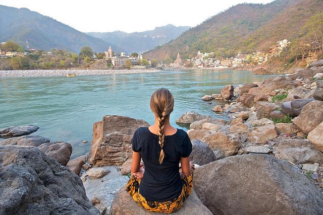 爱旅游 | 到印度瑜伽圣城去寻找自己