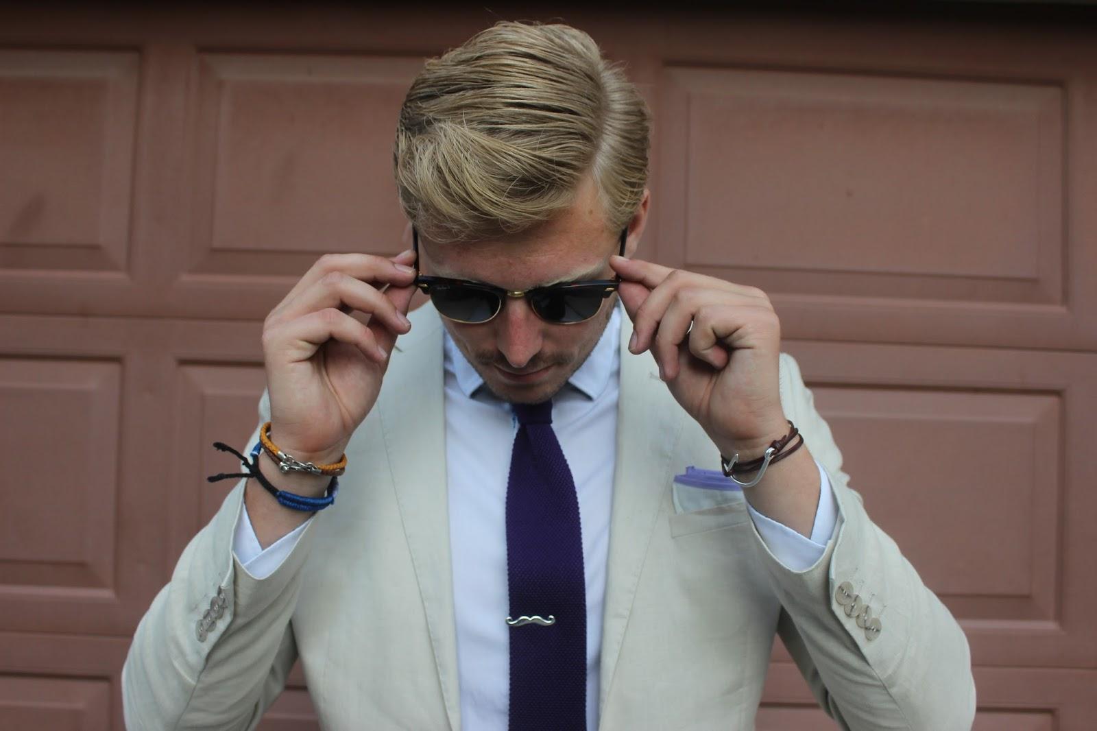 优雅绅士的小玩物:领带夹