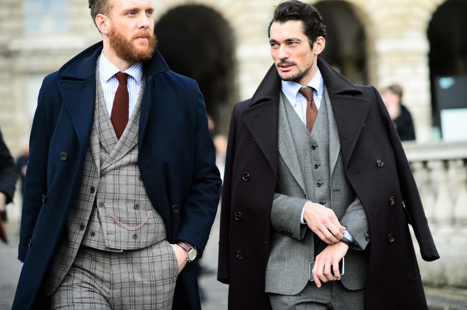 英伦格调:小袖口彰显绅士魅力