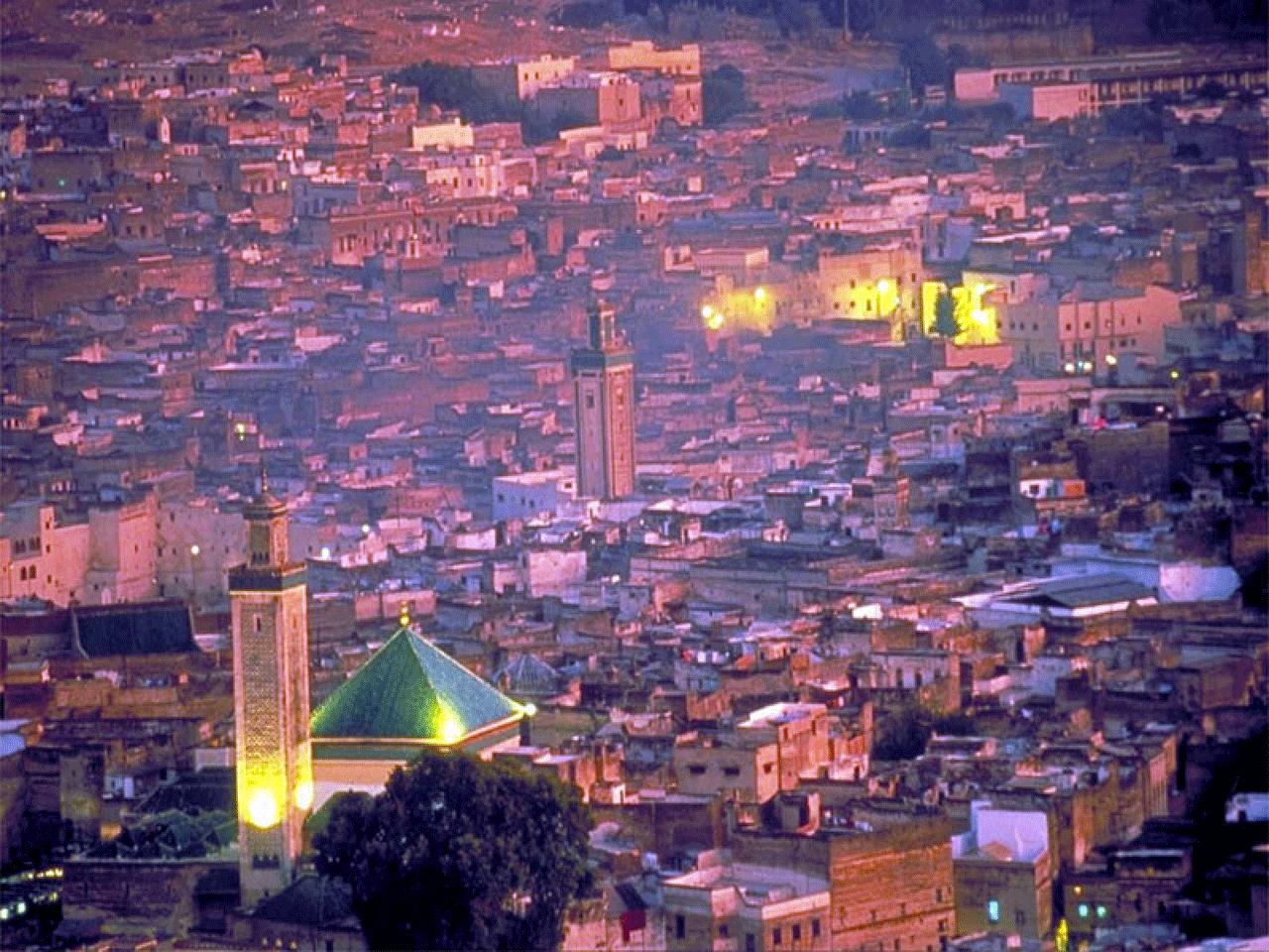 小城故事多 情迷摩洛哥千年古城的伊斯兰风情图片