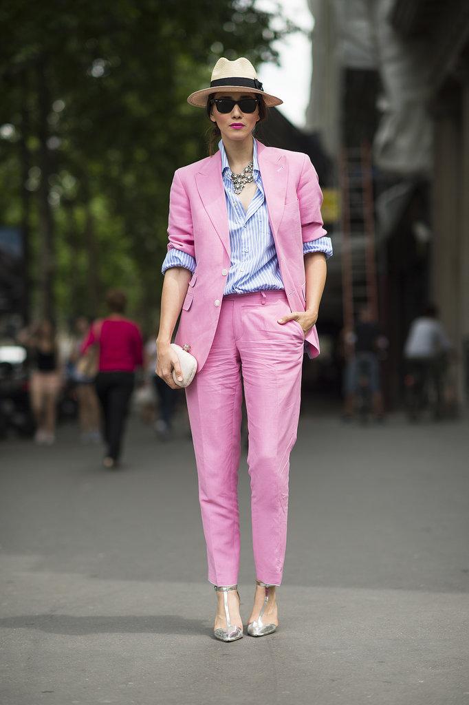 街拍 | 穿西装的女子