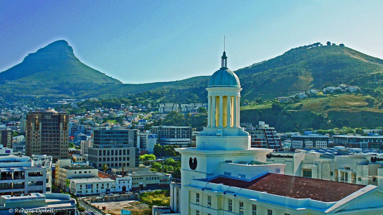 南非城市风景 壁纸