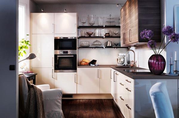灵感:你的小厨房也可变大空间