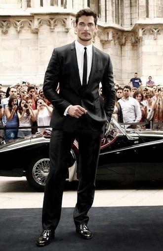 如何做优质男人 首席男模David Gandy是最好例子