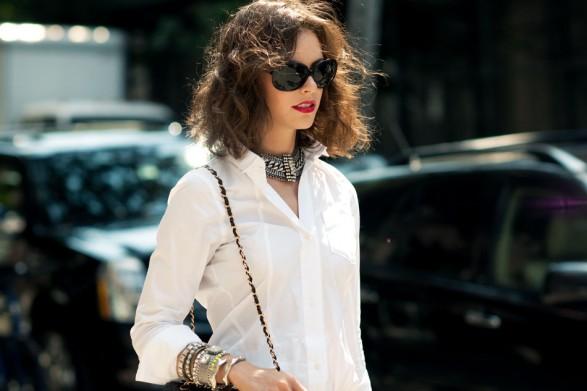 白衬衫太单调?试试新穿法