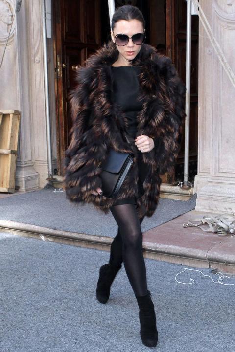 高冷Victoria Beckham的百变发型