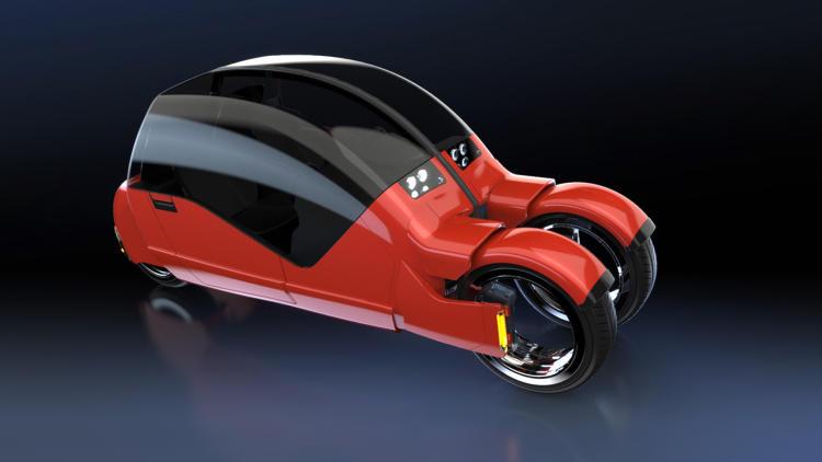 瞬间一变两辆摩托车的汽车:Lane Changer
