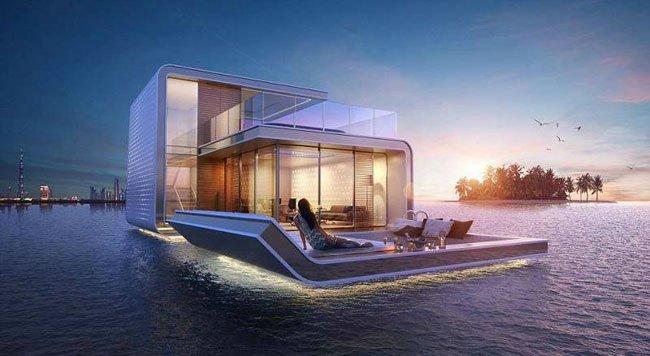 真正的奢华 迪拜的豪华水下别墅美爆了