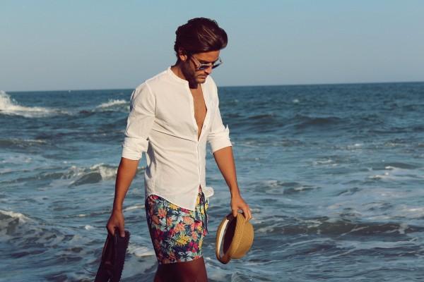 到海边也要帅帅的!三种沙滩裤好选择