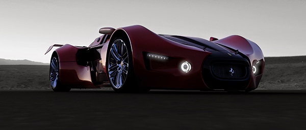 性感的野兽派 法拉利Celeritas 2.0概念车