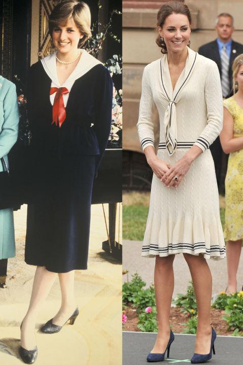 当凯特王妃穿得像戴安娜!