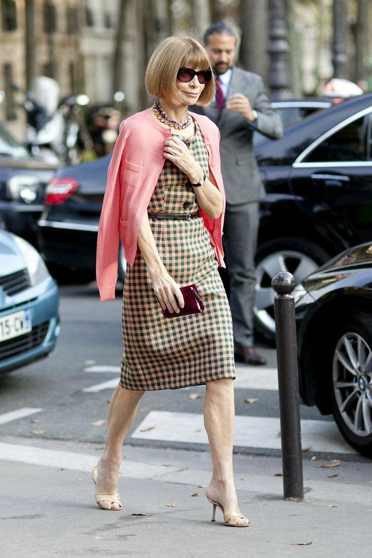 最有经验的时尚过来人 Anna Wintour的穿衣建议