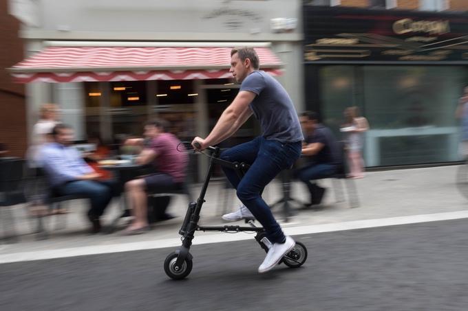 世界上最轻的电动自行车 没有之一