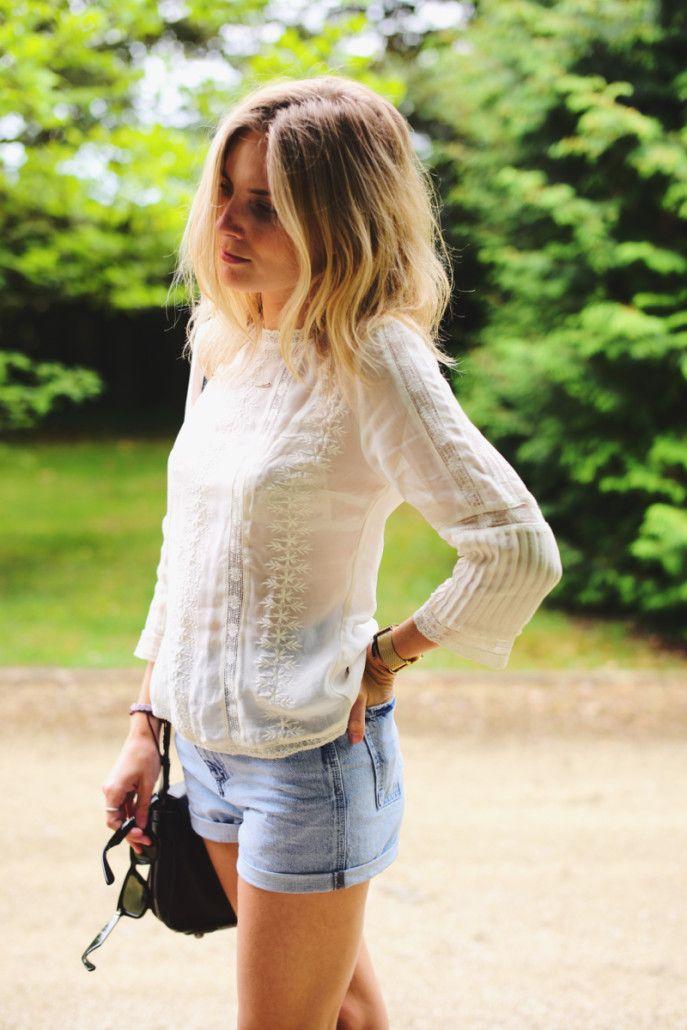 夏天穿白色最省心又好看