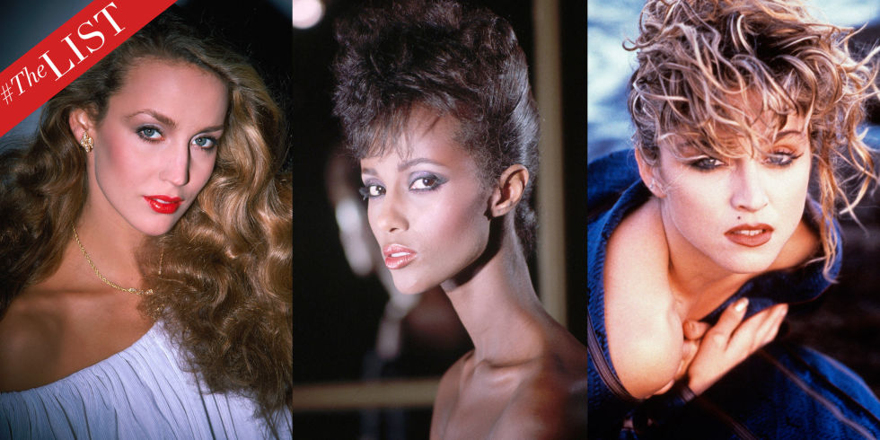THELIST: '80S BEAUTY ICONS