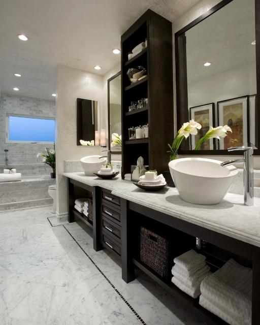 这么装修 在家也能享受五星级豪华浴室!