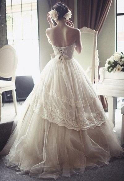 华美细节 让你的婚纱与众不同(下)