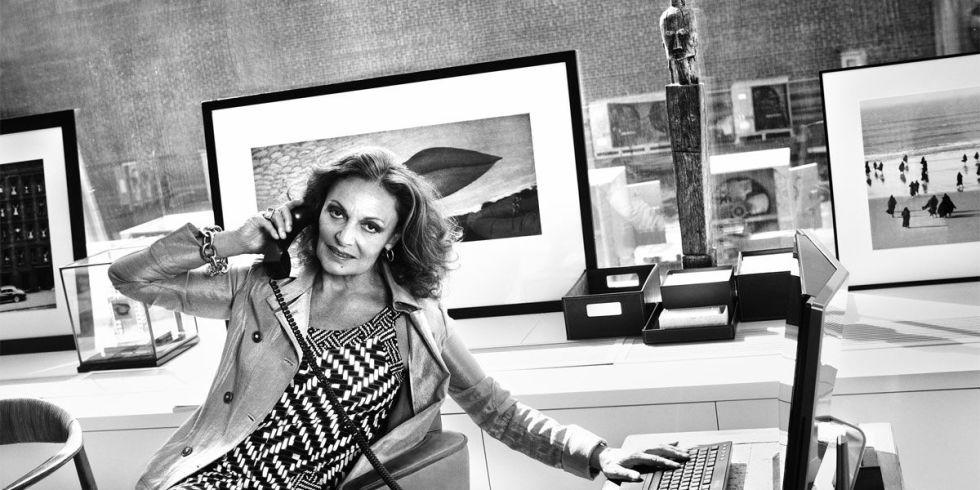 70年代的时尚女皇 戴安娜冯芙丝汀宝
